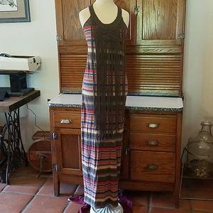 NWOT crochet hippy maxi dress Ralph Lauren